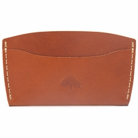 Bison Made No. 3 Wallet - Cognac
