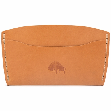Bison Made No. 3 Wallet - Golden Tan