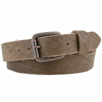 "Born and Raised American Made Full Grain Leather Belt 1-1/2"" wide"