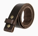 "BS040 Vintage Full Grain Leather Belt Strap 1 1/2"" Wide - Dark Brown1"