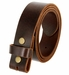 "BS103 Genuine Full Grain Vintage Leather Belt Strap 1-1/2"" Wide - Brown1"
