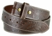 "BS118 Western Floral Engraved Tooled Leather Belt Strap 1-1/2"" - Brown1"