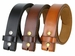"BS121 Genuine Leather Belt Strap 1-1/2"" Wide - Tan3"