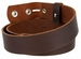 "BS1300 Brown Belt Strap Buffalo Full Grain Matte Finish Leather 1-1/2"" Wide2"