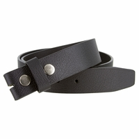 "BS1600 One Piece Genuine Full Grain Leather Belt Strap 1 1/2"" Wide"