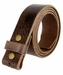 "BS304 Genuine Full Grain Vintage Leather Belt Strap 1-1/2"" Wide Brown1"