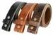 "BS304 Genuine Full Grain Vintage Leather Belt Strap 1-1/2"" Wide Black3"