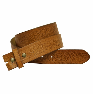 "BS337 Leather Belt Strap 1 1/2"" Wide"