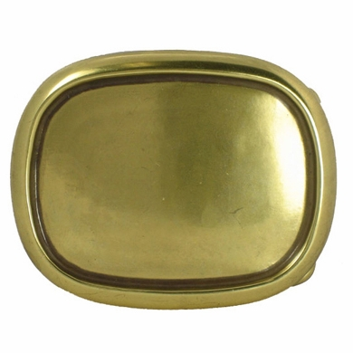 C243 Brass Plain Belt Buckles