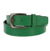 Cable Genuine Leather Green Golf Belt