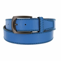 Cable Genuine Leather Sky Blue Golf Belt