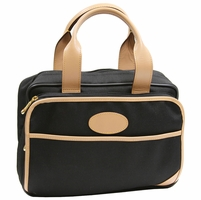 "Classique Noir 12"" Personal Tote by French Luggage Co."