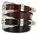 Colorado Men's Leather Western Belt
