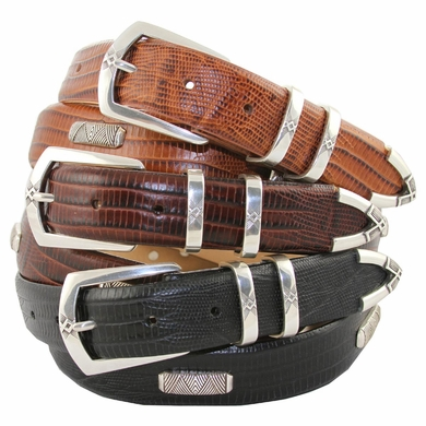 Coventry Italian Leather Concho Belt