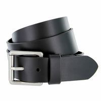 "Deal of Today Men's Antique Roller Buckle Genuine Leather Casual Jean Belt 1-1/2"" Wide"