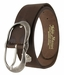 2521/38 1.5 Inch Wide Belt Made In Italy (Dark Brown)1