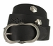 2521/38 1.5 Inch Wide Belt Made In Italy (Black)2