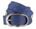 2521/38 1.5 Inch Wide Belt Made In Italy (Royal Blue)2
