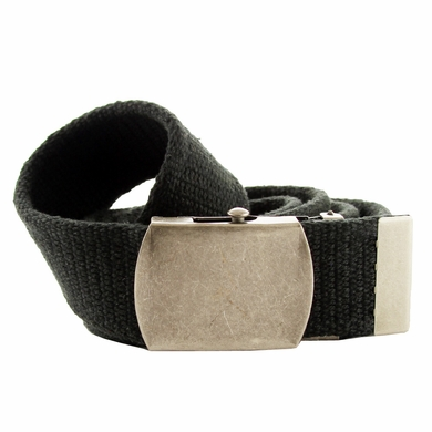 Fabric Web Belt 1. 5 inch wide - Black
