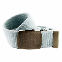Fabric Web Belt 1. 5 inch wide - Light. Blue