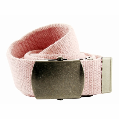 Fabric Web Belt 1. 5 inch wide - Light Pink