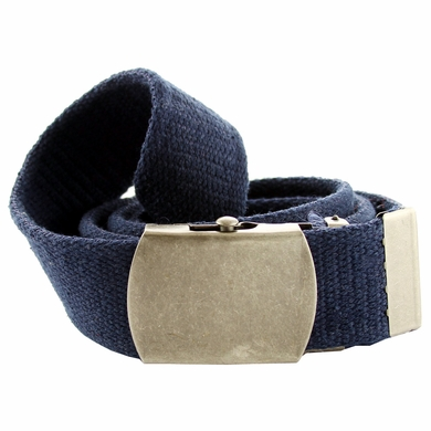 Fabric Web Belt 1. 5 inch wide - Navy