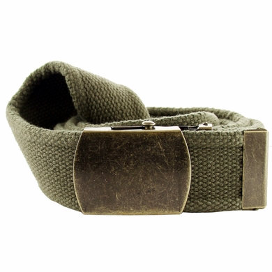 Fabric Web Belt 1. 5 inch wide - Olive