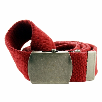 Fabric Web Belt 1. 5 inch wide - Red