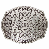 Floral Design Belt Buckle