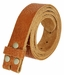 "Full Grain Cowhide Leather Belt Strap Hand-crafted in USA 1-1/2"" wide1"