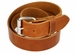 "Full Grain One Piece Heavy Duty Leather Belt Work Belt Gun Belt 1-1/2"" wide (38mm) - Cognac"