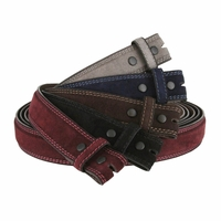 Fullerton 351000 Genuine Full Grain Suede Leather Belt Straps