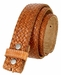 Fullerton 3810002 Crossweave Genuine Full Grain Double Stitched Edges Leather Belt Strap4