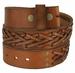 Fullerton 386002 Hand Laced Genuine Full Grain Leather Belt Strap3