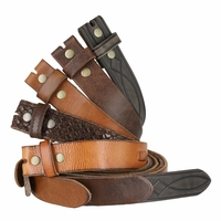 Fullerton Genuine Full Grain Leather Belt Straps