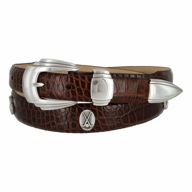 Golf Player Leather Golf Belt