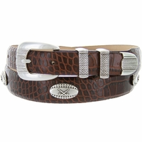 Golf Tour Italian Calfskin Leather Golf Belt