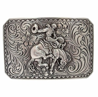 HA 0150 Bronco Rider Cowboy Belt Buckle