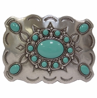 HA0031-1 Turquoise Belt Buckle
