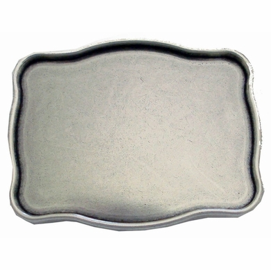 HA0194-1 Silver Plain Buckle
