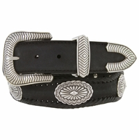Harrison Southwestern Style Conchos Western Leather Belt