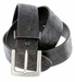 Jordan Western Engraved Buckle Full Leather Belt 1-1/2 inch (38mm) - Black2