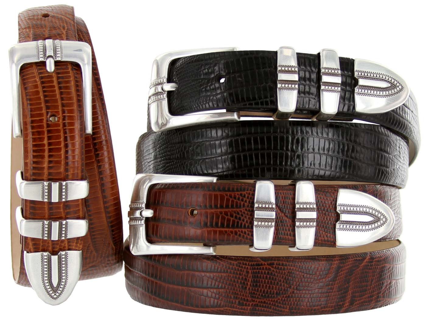 Kaymen Italian Calfskin Leather Designer Dress Golf Belts for Men 1-1 8
