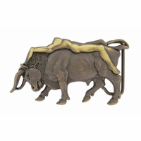 Lady Bull Belt Buckle