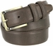 "Lejon 2042 Genuine Italian Calfskin Leather Dress Casual Belt 1-3/8"" (35mm) wide with Brass Buckle2"