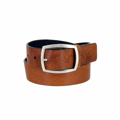"Lejon Belt 13053 Men's Genuine Italian Leather Casual Jean Belt 1-3/8"" Wide Made in USA"
