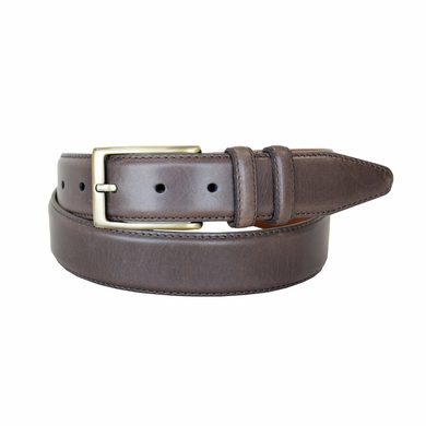 "Lejon Belt 1512 Men's Smooth Leather Dress Belt 1-3/8"" Wide - Brown"