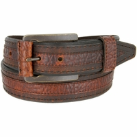 Lejon Belt Chippewa Genuine Bison Leather Belt Made in USA
