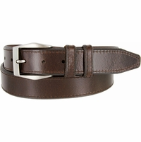 "Lejon Belt Corporate Full Grain Leather Dress Belt 1-3/8"" Wide Brown"
