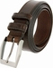 "Lejon Belt Corporate Full Grain Leather Dress Belt 1-3/8"" Wide Brown2"